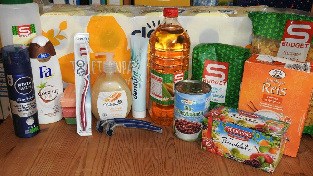 Lebensmittel, Hygieneartikel